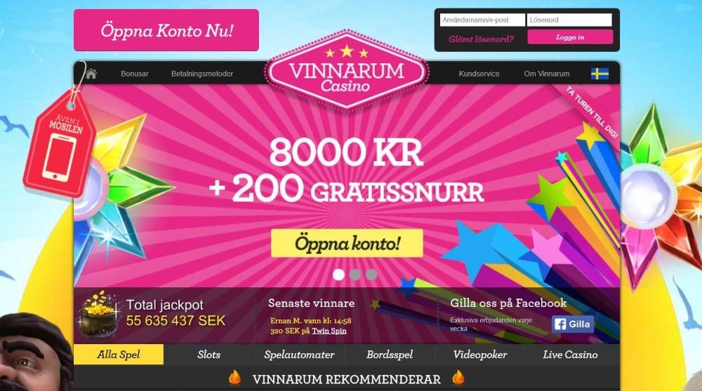 Nyheter på Vinnarum